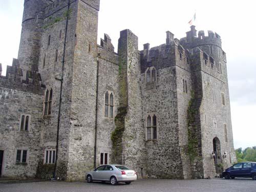 Irish castles kilkea castle for Kildare castle