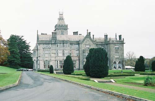 Adare Castle Ireland Map.Irish Castles Adare Manor