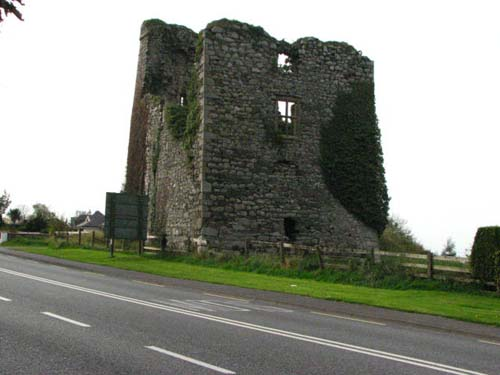 Tower of Taghmon Castle